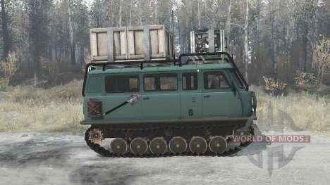 Uzola ZVM 2411П for Spintires MudRunner