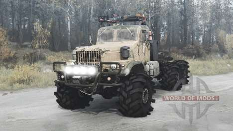 KrAZ 258Б 1977 for Spintires MudRunner