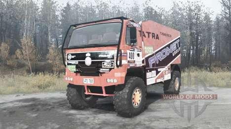 Tatra T815 4x4 Dakar for Spintires MudRunner