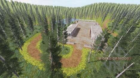 Russian island for Farming Simulator 2017