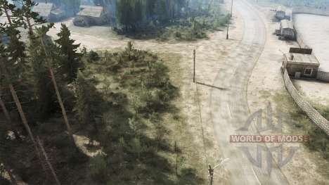 Russian valley for Spintires MudRunner