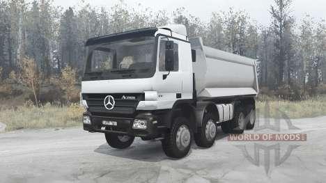 Mercedes-Benz Actros 4141 (MP2) 2003 for Spintires MudRunner