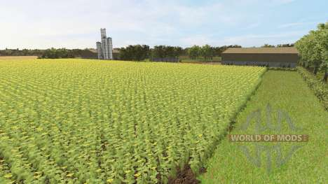 The estate for Farming Simulator 2017