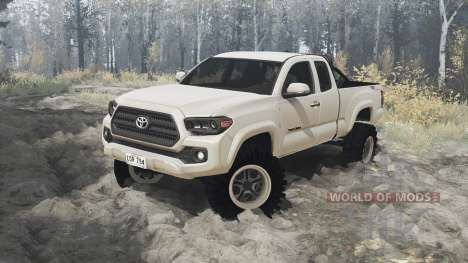 Toyota Tacoma TRD Off-Road Access Cab 2016 for Spintires MudRunner