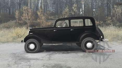 GAZ M1 1936 for Spintires MudRunner
