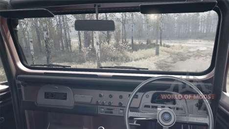 Toyota Land Cruiser 40 6x6 for Spintires MudRunner