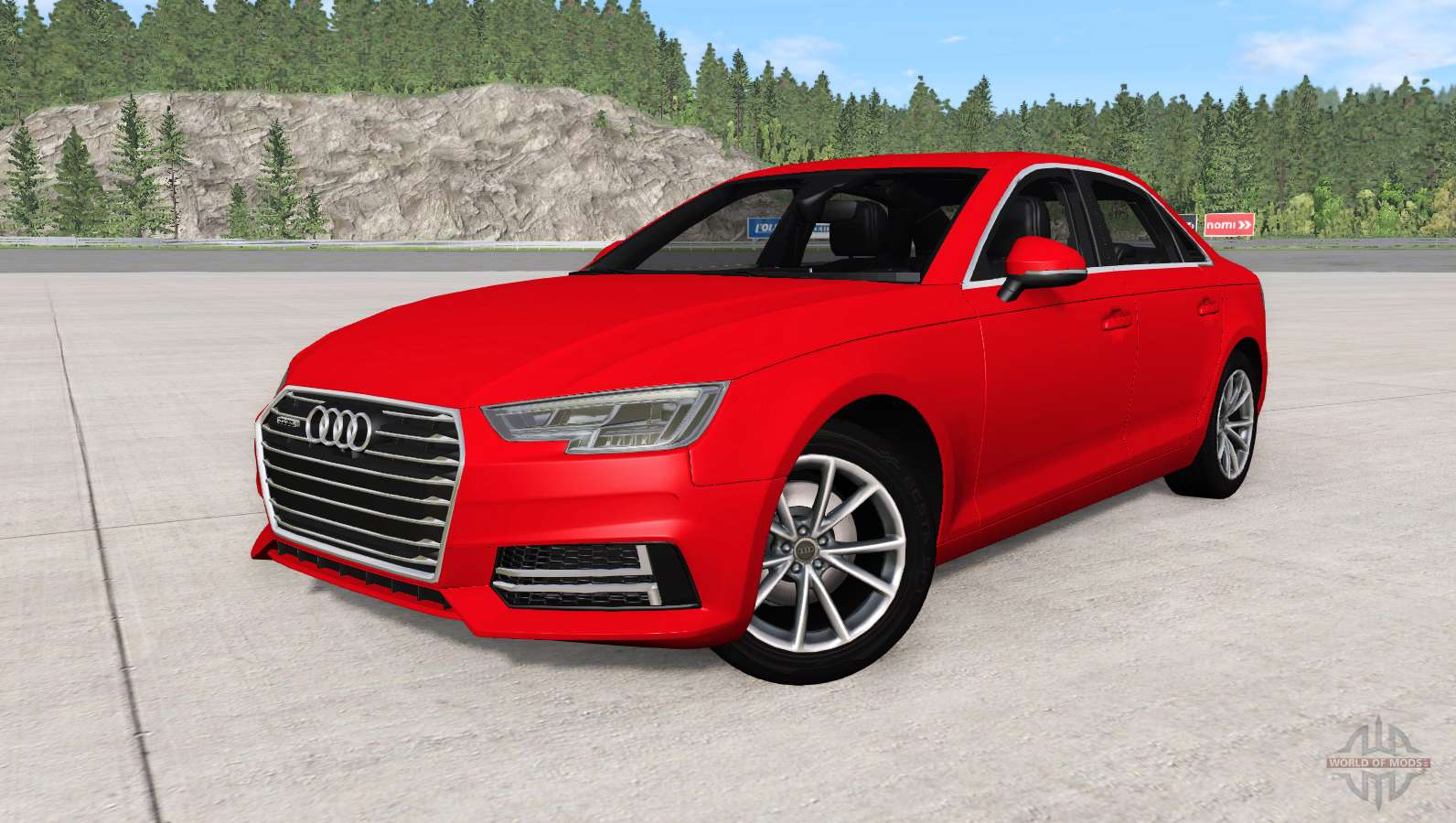 audi a4 tfsi quattro s line b9 2016 for beamng drive. Black Bedroom Furniture Sets. Home Design Ideas