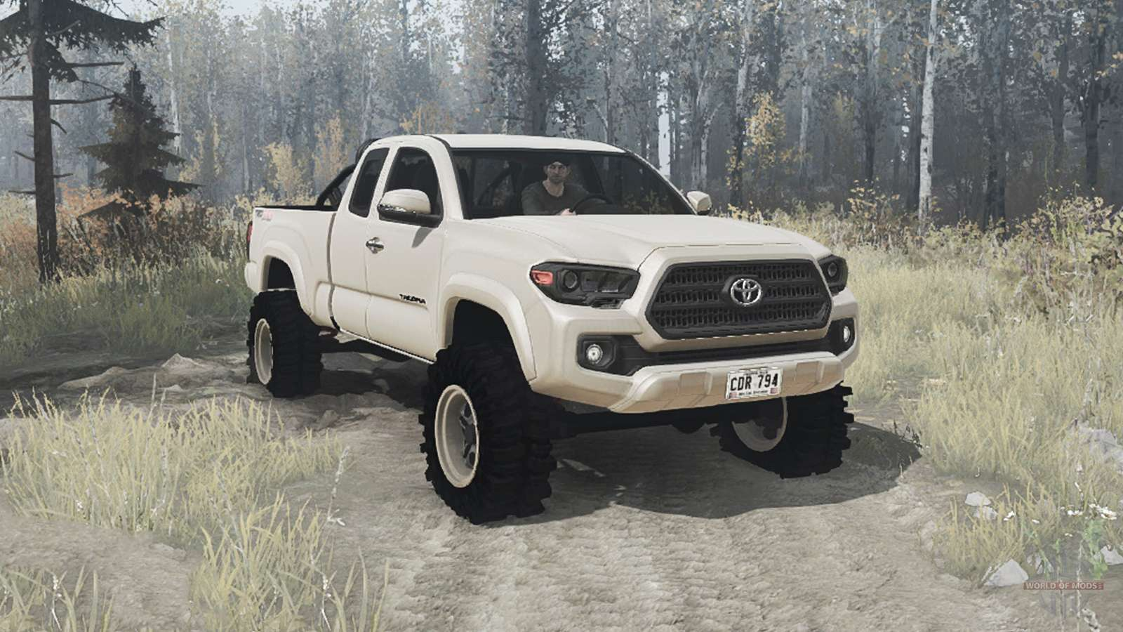 Toyota Tacoma Mods >> Toyota Tacoma Trd Off Road Access Cab 2016 For Mudrunner