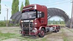 Scania R730 V8 Topline hooklift v1.0.4.4 for Farming Simulator 2017