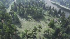 The Forest Roads v1.01 for Spin Tires