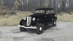GAZ M1 1936 for MudRunner