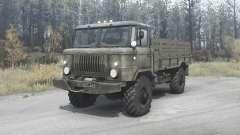 GAZ 66 for MudRunner