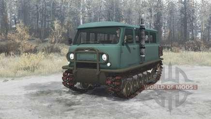 Uzola ZVM 2411П for MudRunner