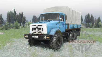 ZIL 4334 edit Armata for Spin Tires