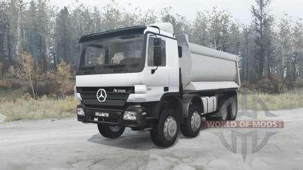 Mercedes-Benz Actros 4141 (MP2) 2003 for MudRunner