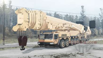 Liebherr LTM 11200-9.1 for MudRunner