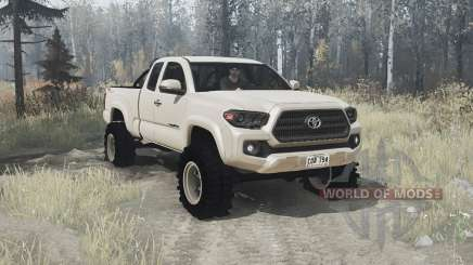Toyota Tacoma TRD Off-Road Access Cab 2016 for MudRunner