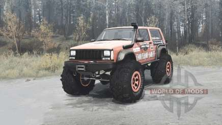 Jeep Cherokee for MudRunner