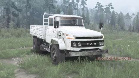 FAW Jiefang for Spintires MudRunner