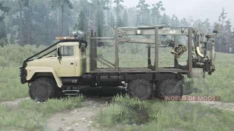 KrAZ-260G for Spintires MudRunner