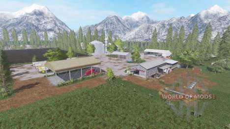 Mountain Valley Farm for Farming Simulator 2017
