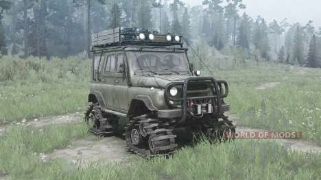 UAZ 3151 for Spintires MudRunner