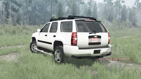 Chevrolet Tahoe (GMT900) 2007 for Spintires MudRunner