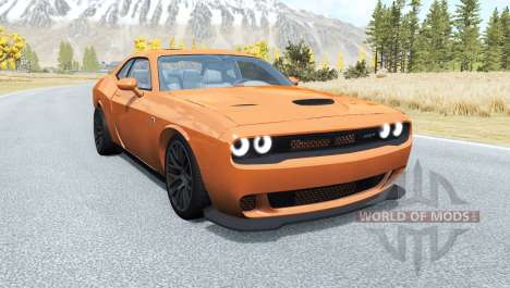 Dodge Challenger for BeamNG Drive