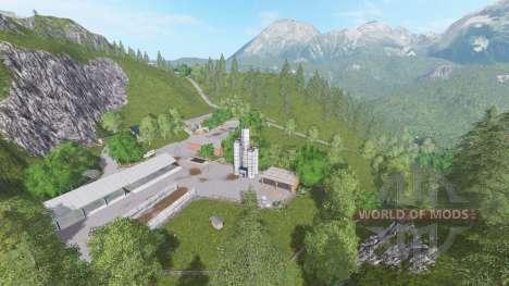 The Alps for Farming Simulator 2017