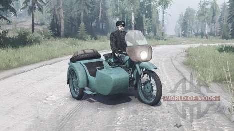 Ural M-62 for Spintires MudRunner