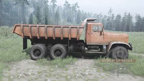 KrAZ 256 for Spintires MudRunner