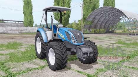 New Holland T5.120 for Farming Simulator 2017