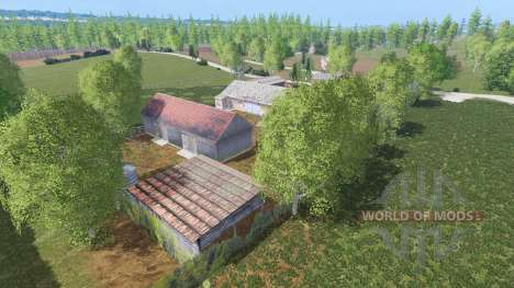 Warminska Village for Farming Simulator 2015
