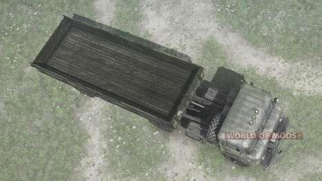 GAS 66К for Spintires MudRunner