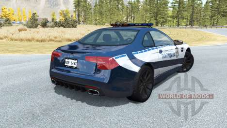 ETK K-Series Police of Serbia for BeamNG Drive