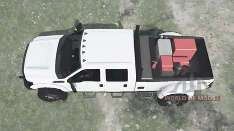 Ford F-350 for Spintires MudRunner
