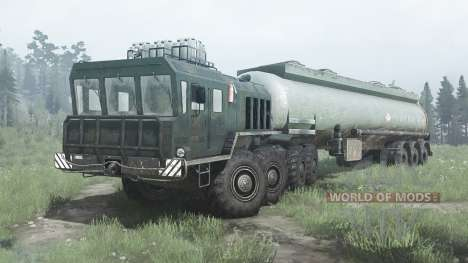 KZKT Rusich 74286 for Spintires MudRunner