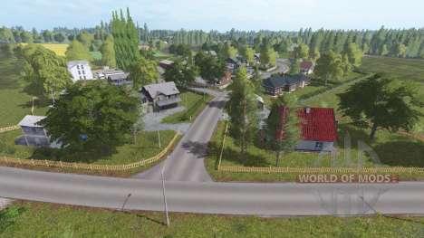 Farm town for Farming Simulator 2017
