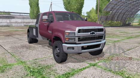 Chevrolet Silverado 4500HD Crew Cab 2018 for Farming Simulator 2017