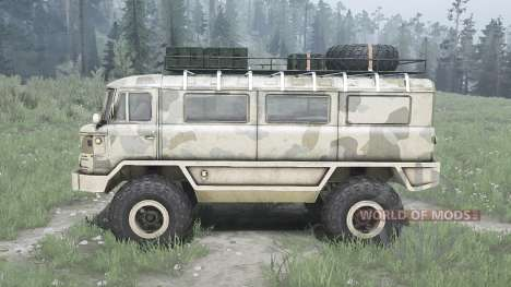 GAZ 66 Beaver for Spintires MudRunner