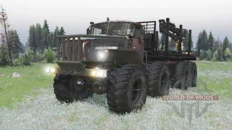Ural Polyarnik 8x8 for Spin Tires