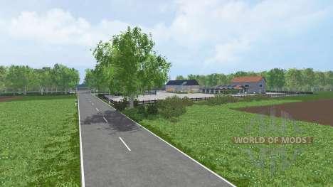 Unna District for Farming Simulator 2015