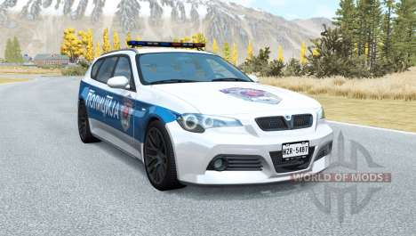 ETK 800-Series Serbia: Police v1.01 for BeamNG Drive