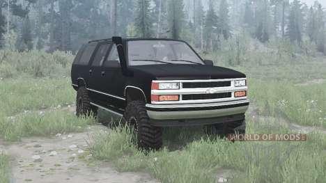 Chevrolet Suburban for Spintires MudRunner