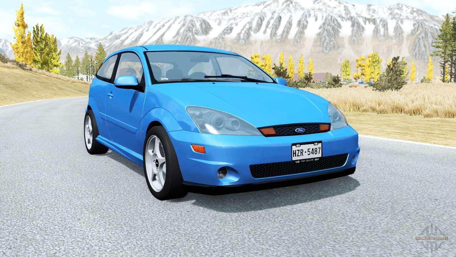 2002 Ford Focus Svt >> Ford Focus SVT (DBW) 2002 for BeamNG Drive