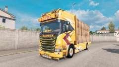 Scania R Topline Lupal for Euro Truck Simulator 2