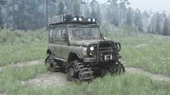 UAZ 3151 crawler modules for MudRunner