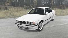 BMW 525iX sedan (E34) 1991 for MudRunner
