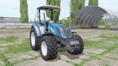 New Holland T5.120 without cab for Farming Simulator 2017