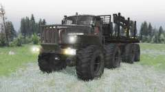 Ural Polyarnik 8x8 for Spin Tires